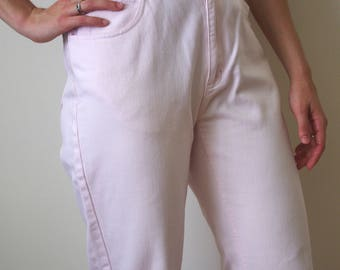 "PINK JEANS liz clairborne high waisted 27"" waist"