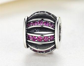 Authentic 925 Sterling Silver leading lady Charm Fits European & Pandora Charm Bracelet