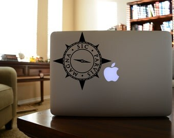Uncharted Sic Parvis Magna Decal