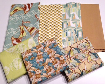 Down the Rabbit Hole Half Yard Fabric Bundle