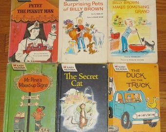 Lot of 6 Easy Reader Hardcovers by Wonder Books