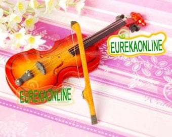 Dolls house miniature cello