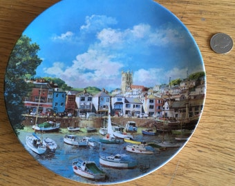 Decorative Brixham plate, Wedgewood