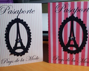 Paris Sweet 16  or birthday invitations