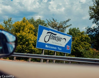 Tennessee Welcome Sign Print