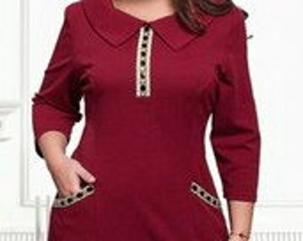 Marvellous Elegant Dress For Any Occasion  Burgundy Stylish Business Casual Elegant  Gown