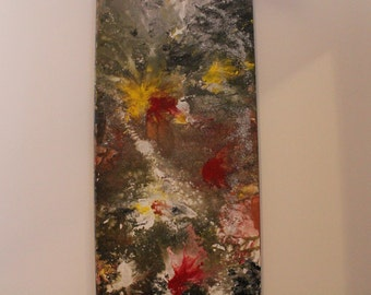 Abstract painting modern art
