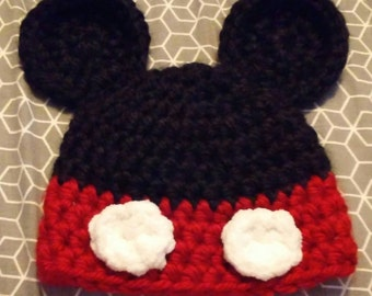 Mickey Mouse Hat - Newborn
