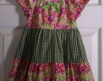 Girl's Peasant dress Size 3