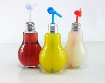 Light Bulb Drinking Glass