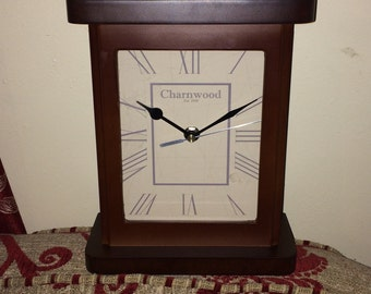 Classic Brown Mantle Clock