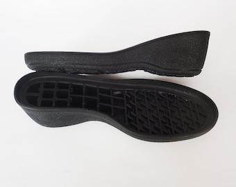 Womens soles winter shoes - Black rubber soles felted shoes - Outsoles winter boot soles - Rubber soles footwear - Soles felt boots