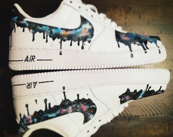 Melting/Drip Galaxy Nike Air Force 1