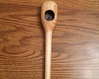 Turned Wood Tobacco Pipe