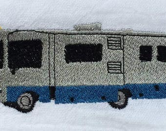 Class A Motorhome Motorcoach Glamping Camping  Flour Sack Kitchen Towel