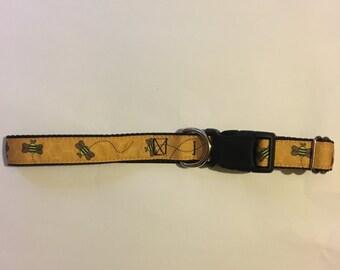 Busy Bee Dog Collar