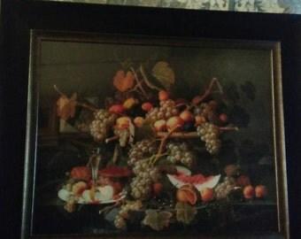 Large fruit print