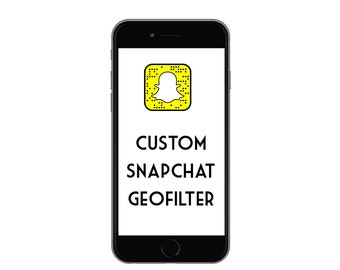 Custom Snapchat Geofilter, Geofilter For Your Event (Weddings, Birthdays, Graduations, etc!) Made to order, 24 hour turnaround time