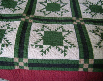 Vintage Pieced Quilt