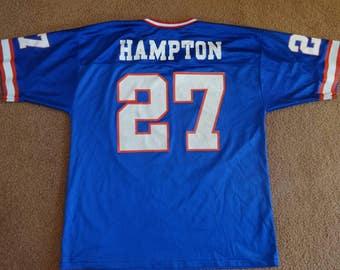 Vintage Rodney Hampton Giants jersey