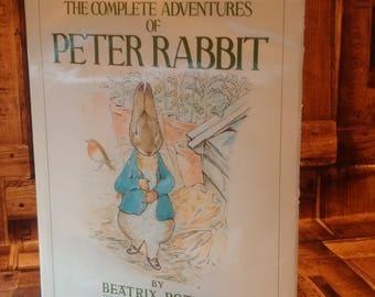 ADVENTURES of PETER RABBIT by Beatrix Potter, Children's books, Vintage Beatrix Potter, The Tale of Benjamin Bunny, Mr. Tod