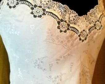 Vintage Dior Camisole 70s s/m