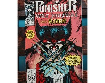 The Punisher War Journal Number 6 1988 Wolverine