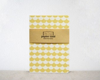 Yellow Fishscale pattern book