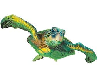 Sea Turtle watercolor Painting