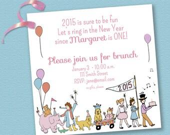 Parade Birthday Invitation