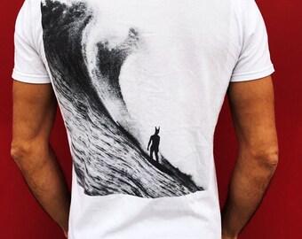 weird wave t shirt