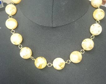 Smokey beaded necklace