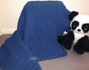 Royal blue blanket
