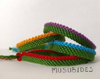 Top Stripe Bracelet - [Ninja Turtles (TMNT) Inspired]