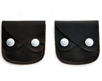 Smiley Genuine Leather Small Purse