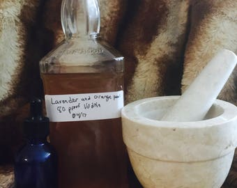 Lavender and Citrus Tincture