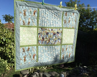 Golf Quilted Patchwork Large Wall Hanging