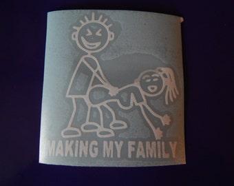Making My Family Decal
