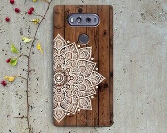 Mandala case lg Q6 Lg g3 lg g4 lg g3 mini lg g3 Stylus lg v10 lg v20 lg stylus 2 lg g5 wood case, lg k20 plus lg k10 LG X Power lg g6 case