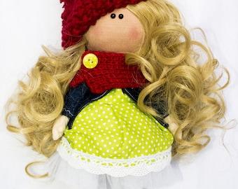 Magic textile Doll