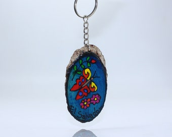 Beautiful and colorful rustic Keychains