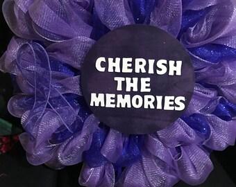 Alzheimer's wreath