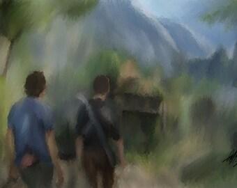 Uncharted 4; Libertalia Painting