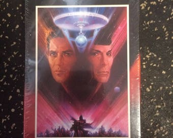 Star Trek V: The Final Frontier VHS by Paramount - Sealed