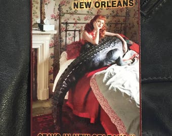 "What Happens In New Orleans 2 - 4""x6"""