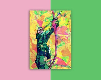 Nottingham Robin Hood Postcard