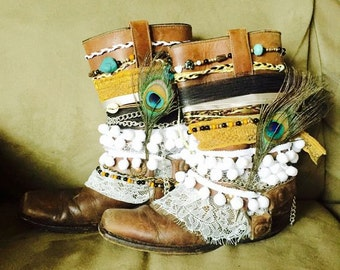 Customised Cowboy Boots