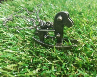 Little Tikes Rocking Horse Necklace