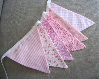 Cotton Bunting, Pink