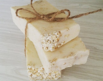 Basically Awesome Oatmeal Soap